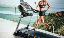 Running on Nordictrack Treadmill
