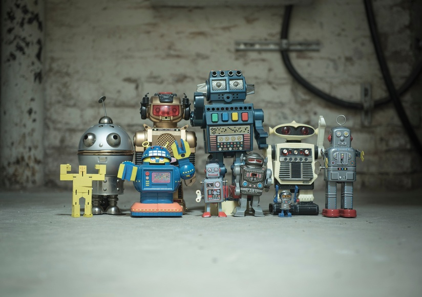 Robots and Customers: Creating Surprising Connections for Brands
